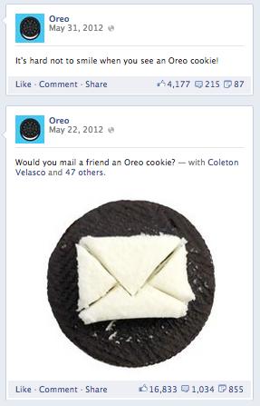 Kết quả hình ảnh cho oreo facebook posts
