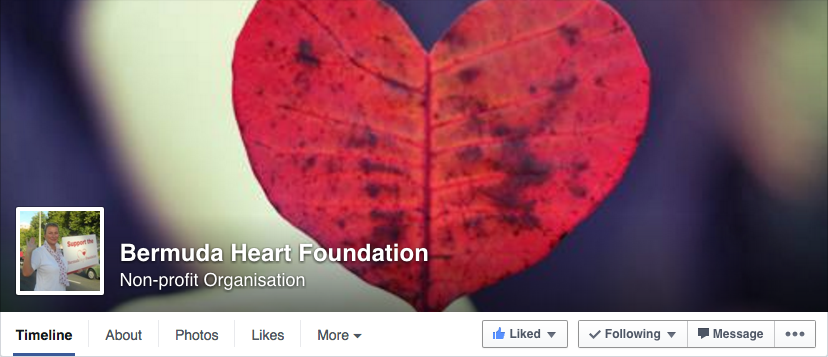 Bermuda Heart Foundation Facebook Page
